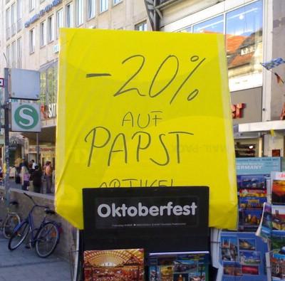 -20% auf PAPST (Artikel) Oktoberfest