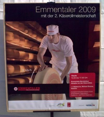 Plakat in Bern