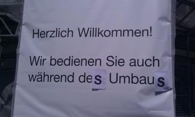 DIN A3 Papier auf Plane, Kreuzplatz, Zürich